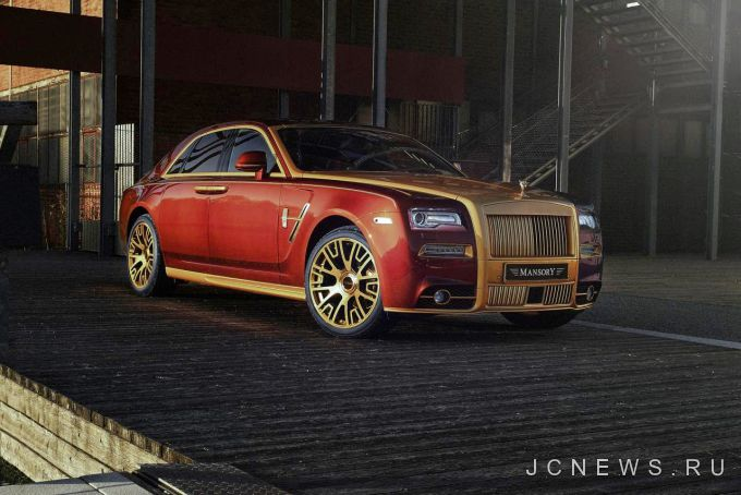 Mansory обновил Rolls-Royce Ghost Series II